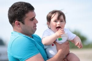 May I Communicate and Have Visitation with my Child During a Paternity Action?