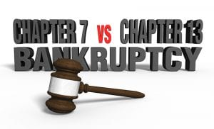Should I File Chapter 7 or 13 Bankruptcy?